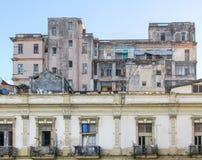 Casa da degradação em Cuba Imagem de Stock