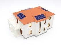 Casa da energia alternativa Imagem de Stock