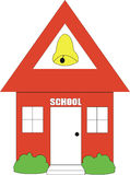 Casa da escola Imagem de Stock