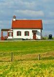Casa da escola de Amish imagem de stock royalty free