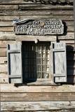 Casa da escola a mais velha nos EUA. fotos de stock