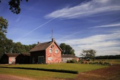 Casa da exploração agrícola Fotos de Stock
