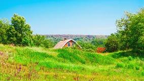 Casa da exploração agrícola Fotografia de Stock
