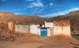 Casa da exploração agrícola em Marrocos Imagens de Stock