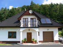 Casa da família Foto de Stock Royalty Free