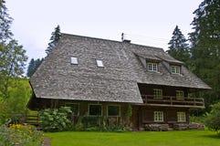 Casa da Floresta Negra de Schwarzwald Imagens de Stock