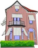 Casa da ilustração do vetor Foto de Stock Royalty Free
