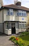 Casa da infância de John Lennon em Liverpool Fotos de Stock Royalty Free
