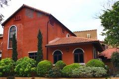Casa da laranja Fotos de Stock Royalty Free