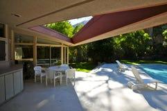 Casa da lua de mel do ` s de Elvis Presley, Palm Springs imagens de stock royalty free