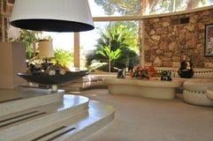 Casa da lua de mel do ` s de Elvis Presley, Palm Springs fotografia de stock