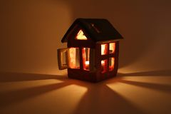 Casa da luz Imagens de Stock Royalty Free