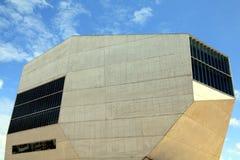 Casa da Música a Oporto, Portogallo fotografia stock libera da diritti