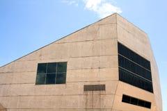 Casa da Música a Oporto, Portogallo fotografia stock