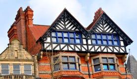 Casa da madeira imagem de stock royalty free