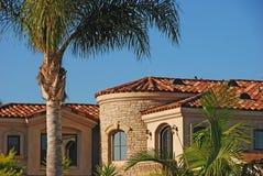 Casa da mansão Fotografia de Stock Royalty Free
