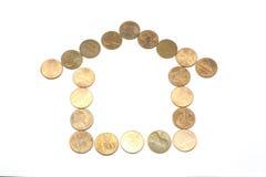 Casa da moeda de um centavo Fotos de Stock Royalty Free