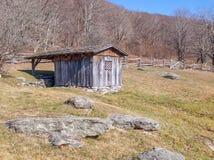 Casa da mola em Grayson Highlands State Park imagem de stock