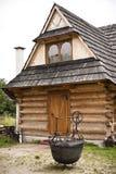 Casa da montanha Imagem de Stock Royalty Free