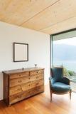 Casa da montanha, interior imagem de stock royalty free