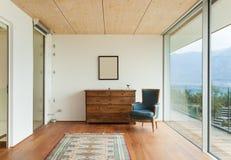 Casa da montanha, interior fotos de stock