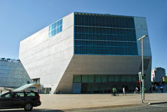 Casa DA Musica, Πόρτο Στοκ Εικόνες