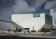 Casa da musica landmark modern urban building in porto portugal Stock Photo