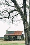 Casa da quinta abandonada Foto de Stock Royalty Free