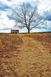 Casa da quinta abandonada Imagem de Stock Royalty Free