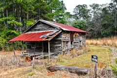 Casa da quinta abandonada Fotografia de Stock Royalty Free