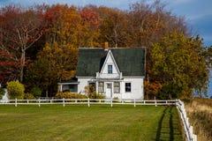 Casa da quinta abandonada Imagem de Stock