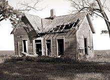 Casa da quinta abandonada Imagens de Stock Royalty Free