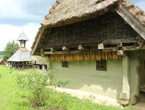 Casa da quinta austríaca velha Foto de Stock