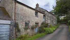 Casa da quinta córnico velha, Cornualha, Inglaterra fotos de stock royalty free