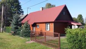 Casa da quinta da casa da vila Fotos de Stock