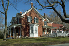 Casa da quinta de Minnesota Fotografia de Stock Royalty Free
