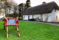 Casa da quinta de Shannon no parque popular de Bunratty, Ireland Imagem de Stock Royalty Free