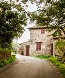 Casa da quinta de Tuscan, Chianti, Itália Foto de Stock Royalty Free