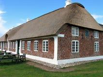 Casa da quinta Dinamarca do país Foto de Stock Royalty Free