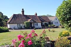 Casa da quinta do país de Kent foto de stock