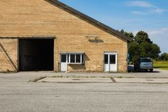 Casa da quinta em Europa norte foto de stock royalty free