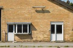 Casa da quinta em Europa norte fotografia de stock