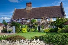 Casa da quinta em Inglaterra Foto de Stock Royalty Free