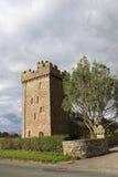 Casa da quinta fortificada em Inglaterra. Fotos de Stock