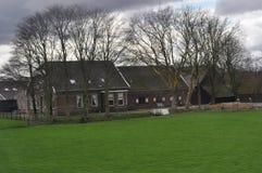 Casa da quinta holandesa Fotos de Stock Royalty Free