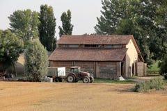 Casa da quinta italiana imagem de stock