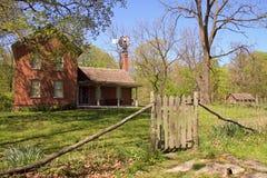 Casa da quinta restaurada Imagem de Stock Royalty Free