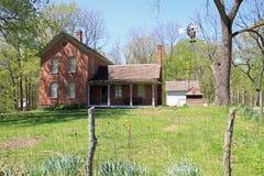Casa da quinta restaurada Fotos de Stock Royalty Free