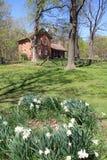 Casa da quinta restaurada Fotografia de Stock Royalty Free