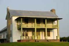 Casa da quinta rural fotografia de stock